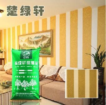 武汉硅藻泥玫瑰风韵蓝天白云硅藻泥图案施工