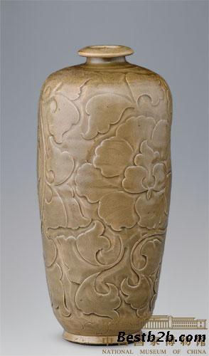 宋耀州窑青釉刻花莱菔瓷尊的市场与价值