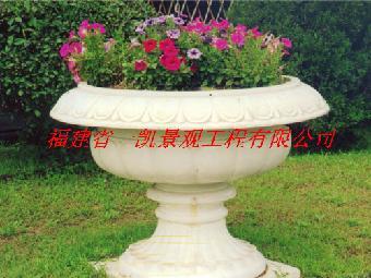 石材花钵 石雕花钵 园林花钵 庭院花钵 欧式花钵