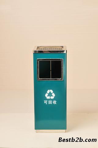 国家电网标识 方形垃圾桶