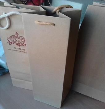 葡萄酒盒牛皮纸袋手提袋