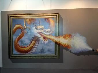三d壁画设计,三d壁画素材,深圳亚特美专业手绘3d壁画