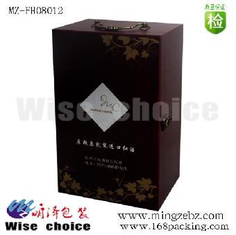 现货红酒盒 红酒外包装盒