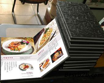 高档菜谱印刷装订-酒水单印刷装订-可做各种装叉烧能吃秘制孕妇肉吗图片