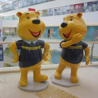广东深圳哪里有卡通人物雕塑的厂家龙翔玻璃钢