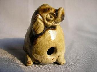 陶泥,釉彩在烧制过程中所产生的特殊效果