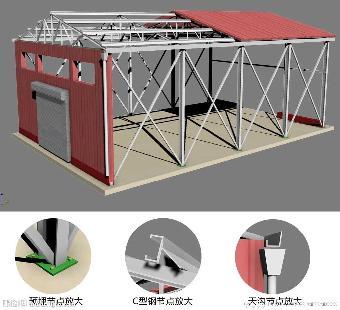 主要经营范围:  一,钢结构,彩钢类:屋顶加层,建造彩钢房屋,彩钢隔断