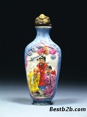 但自从1990年一件清代翡翠鼻烟壶在苏富比(香港)有限