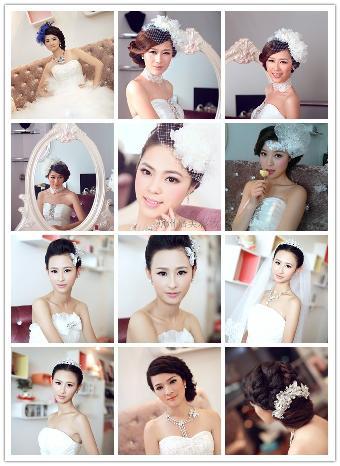 唐妆发型步骤图解