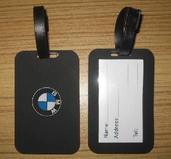 宝马标志行李牌bmw行李牌车标行李牌汽车卡套吊牌