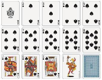 扑克工艺品制作图解