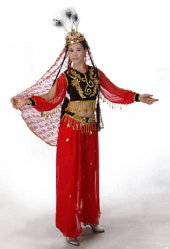 新疆舞服装出租赁傣族服装民族服装出租赁