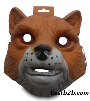 面具/联系我时请说明来自志趣网,谢谢! 关键字:狐狸面具吸塑面具定制