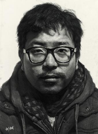 超写实素描,刘斌超写实素描头像