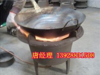 铁桶做的土灶图片