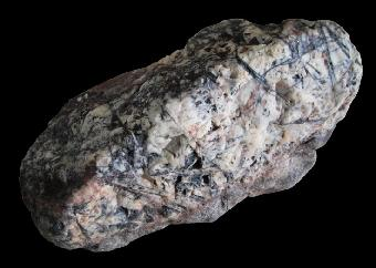 六方晶体陨石夜明珠_大陨石钻石夜明珠