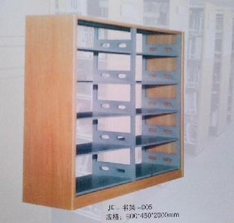 木护板双面书架北京钢制双面书架天津期刊架沈阳书架厂家