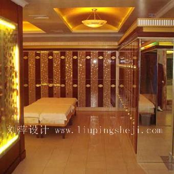 成都足疗店装修设计的重点在于水,水的引入,使用和展示成为洗浴
