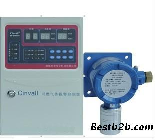 b报警控制器与可燃气体探测器xh-g800a-b连接线断