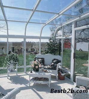 我们在设计和建筑阳光房时,对于不同用途的阳光房在整体造型及结构