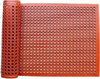 化工 橡胶及制品  青岛橡胶地垫 户外橡胶地垫  安全橡胶
