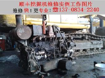 小松挖机变速杆故障或变速杆和前后行走切断图片