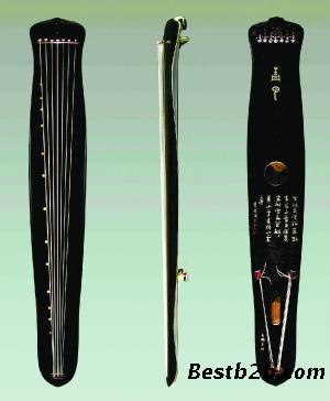 王鹏在古人的51种古琴样式图片