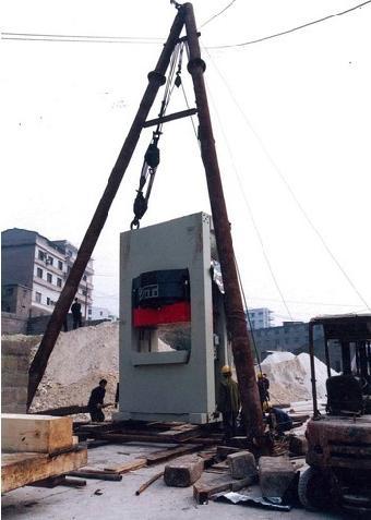 宝安重型机械搬迁设备搬运吊装