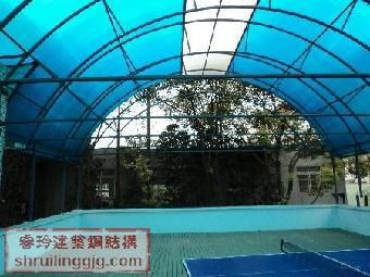 上海睿玲制作钢结构雨棚